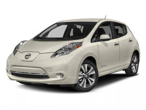 2016 Nissan LEAF for sale at DAVID McDAVID HONDA OF IRVING in Irving TX