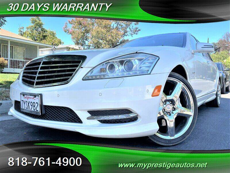 2012 Mercedes-Benz S-Class for sale at Prestige Auto Sports Inc in North Hollywood CA