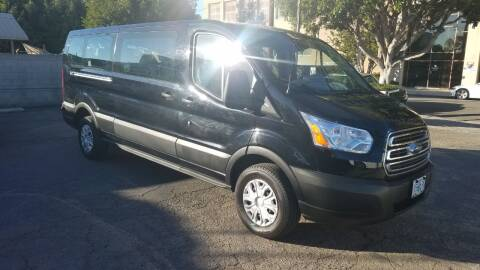 2019 Ford Transit Passenger for sale at In-House Auto Finance in Hawthorne CA