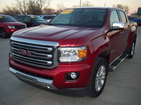 2015 GMC Canyon for sale at Nemaha Valley Motors in Seneca KS