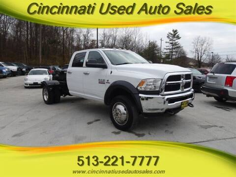 2017 RAM Ram Chassis 5500 for sale at Cincinnati Used Auto Sales in Cincinnati OH