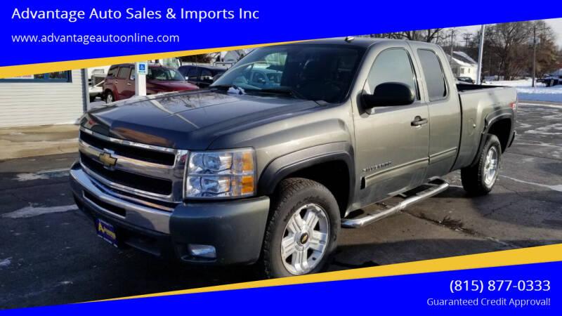 2011 Chevrolet Silverado 1500 for sale at Advantage Auto Sales & Imports Inc in Loves Park IL