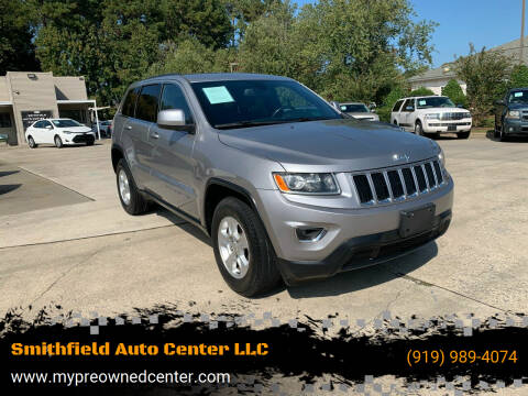 2016 Jeep Grand Cherokee for sale at Smithfield Auto Center LLC in Smithfield NC