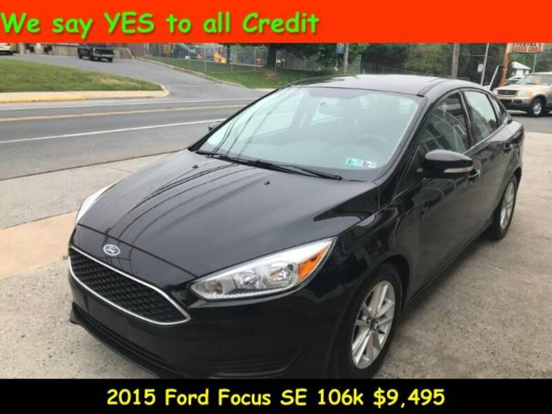 2015 Ford Focus for sale at Fortnas Used Cars in Jonestown PA