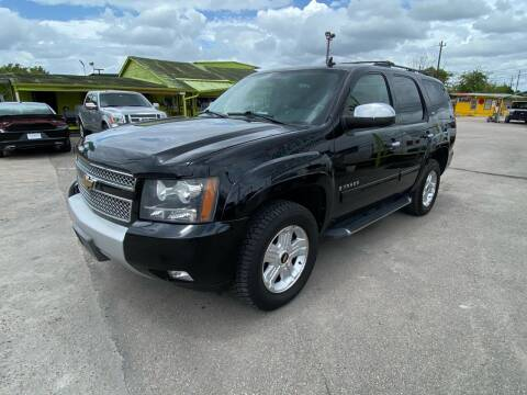 2008 Chevrolet Tahoe for sale at RODRIGUEZ MOTORS CO. in Houston TX
