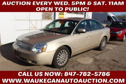 2005 Mercury Montego for sale at Waukegan Auto Auction in Waukegan IL