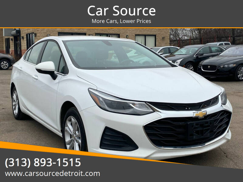 2019 Chevrolet Cruze for sale at Car Source in Detroit MI