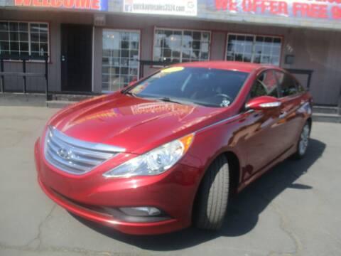2014 Hyundai Sonata for sale at Quick Auto Sales in Modesto CA