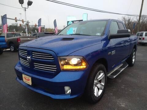 2014 RAM Ram Pickup 1500 for sale at P J McCafferty Inc in Langhorne PA