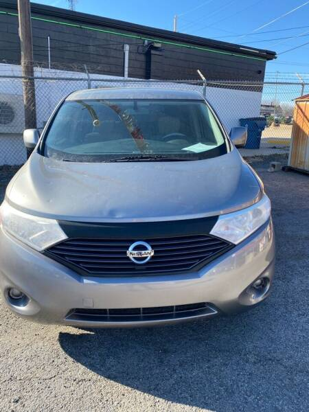 2013 Nissan Quest for sale at E-Z Pay Used Cars in McAlester OK