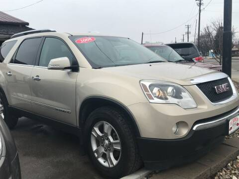 2008 GMC Acadia for sale at El Rancho Auto Sales in Des Moines IA