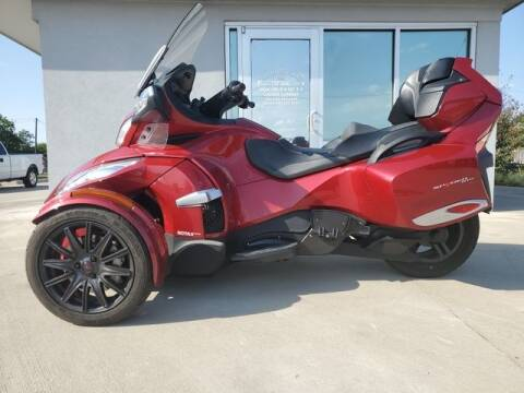 2016 Can-Am Spyder RT-S for sale at Kell Auto Sales, Inc in Wichita Falls TX