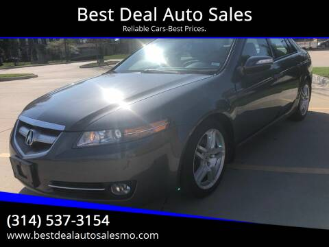 2008 Acura TL for sale at Best Deal Auto Sales in Saint Charles MO