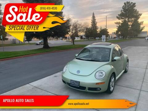 2006 Volkswagen New Beetle for sale at APOLLO AUTO SALES in Sacramento CA