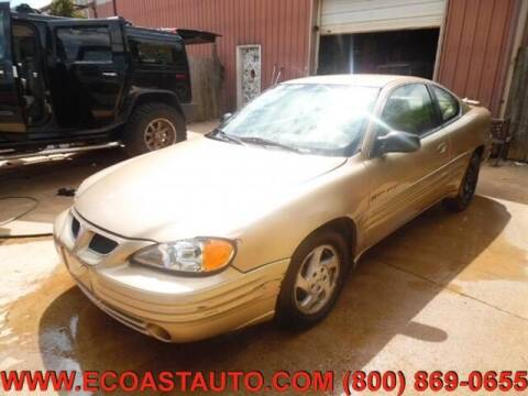 1999 Pontiac Grand Am for sale at East Coast Auto Source Inc. in Bedford VA