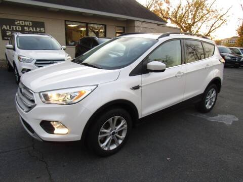 2018 Ford Escape for sale at 2010 Auto Sales in Troy NY