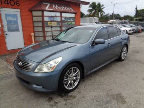 2007 Infiniti G35 for sale at Z MOTORS INC in Hollywood FL