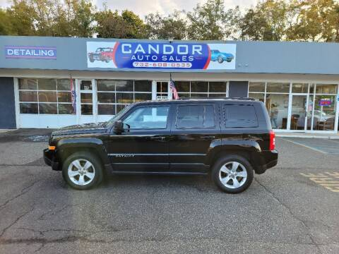 2012 Jeep Patriot for sale at CANDOR INC in Toms River NJ