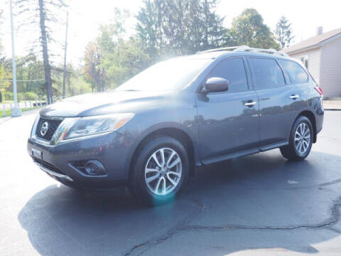 2013 Nissan Pathfinder for sale at Patriot Motors in Cortland OH