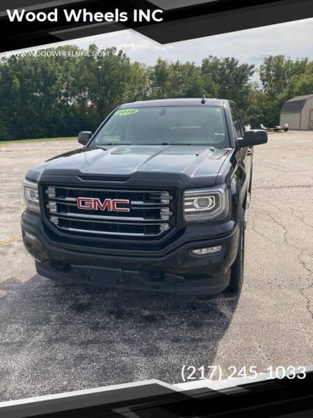 2018 GMC Sierra 1500 for sale at Wood Wheels INC in Jacksonville IL