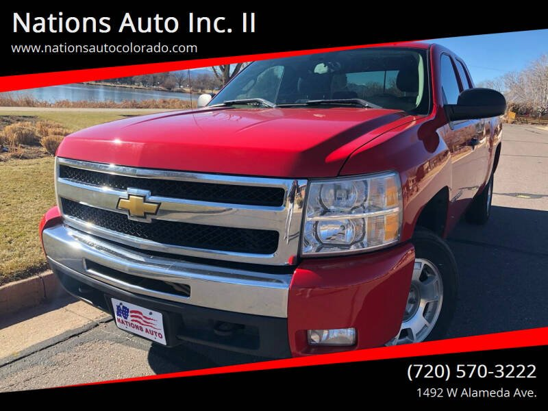 2011 Chevrolet Silverado 1500 for sale at Nations Auto Inc. II in Denver CO