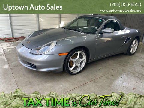 2004 Porsche Boxster for sale at Uptown Auto Sales in Charlotte NC