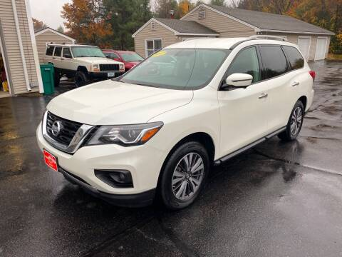2017 Nissan Pathfinder for sale at Glen's Auto Sales in Fremont NH