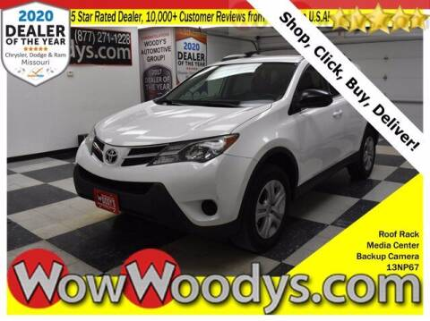 2013 Toyota RAV4 for sale at WOODY'S AUTOMOTIVE GROUP in Chillicothe MO
