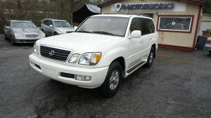 2002 Lexus LX 470 for sale at E-Motorworks in Roswell GA