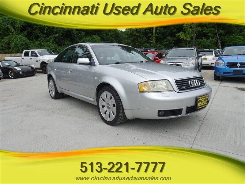 2000 Audi A6 for sale in Cincinnati, OH