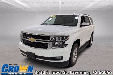 2017 Chevrolet Tahoe for sale at Crown Automotive of Lawrence Kansas in Lawrence KS