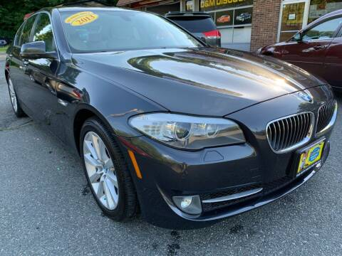2013 BMW 5 Series for sale at D & M Discount Auto Sales in Stafford VA