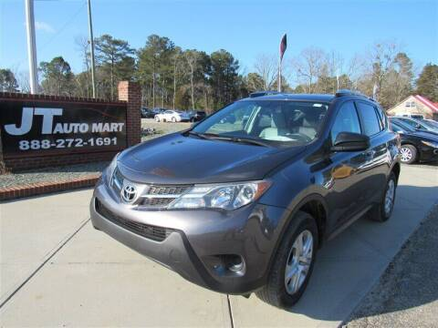 2013 Toyota RAV4 for sale at J T Auto Group in Sanford NC