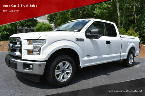 2017 Ford F-150 for sale at Apex Car & Truck Sales in Apex NC