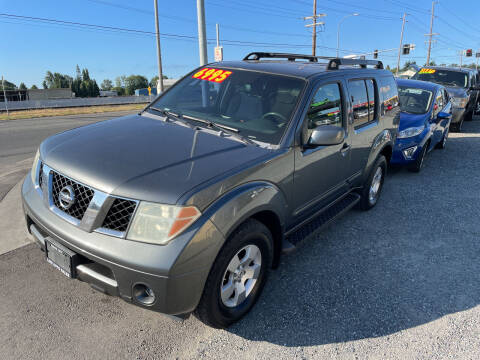 2006 Nissan Pathfinder for sale at Low Auto Sales in Sedro Woolley WA