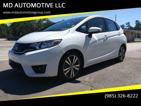 2015 Honda Fit for sale at MD AUTOMOTIVE LLC in Slidell LA