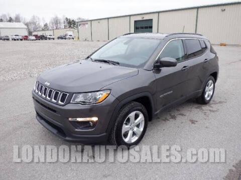 2019 Jeep Compass for sale at London Auto Sales LLC in London KY