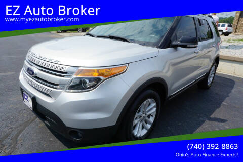 2014 Ford Explorer for sale at EZ Auto Broker in Mount Vernon OH