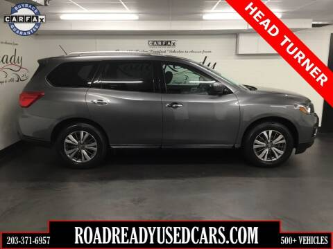 2018 Nissan Pathfinder for sale at Road Ready Used Cars in Ansonia CT