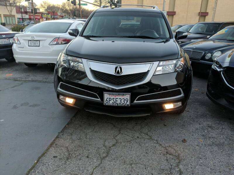 2011 Acura MDX for sale at Auto City in Redwood City CA