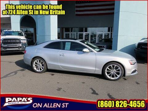 2013 Audi A5 for sale at Papas Chrysler Dodge Jeep Ram in New Britain CT