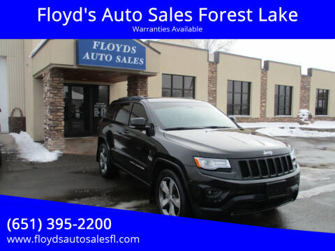 2015 Jeep Grand Cherokee for sale at Floyd's Auto Sales Forest Lake in Forest Lake MN