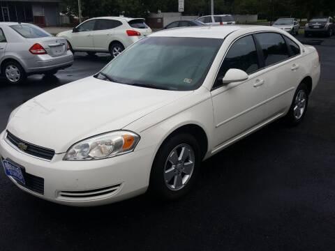 2007 Chevrolet Impala for sale at Premier Auto Sales Inc. in Newport News VA