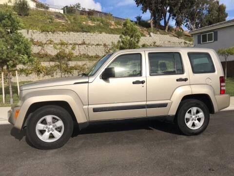 2010 Jeep Liberty for sale at CALIFORNIA AUTO GROUP in San Diego CA