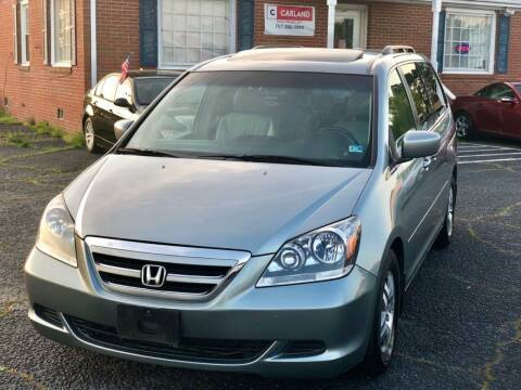 2006 Honda Odyssey for sale at Carland Auto Sales INC. in Portsmouth VA