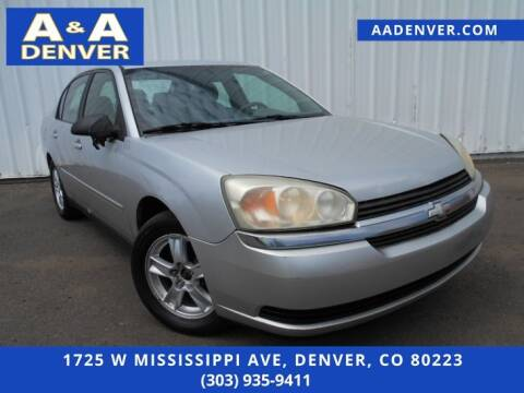 2005 Chevrolet Malibu for sale at A & A AUTO LLC in Denver CO