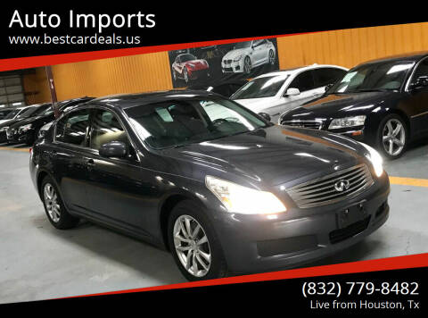 2007 Infiniti G35 for sale at Auto Imports in Houston TX