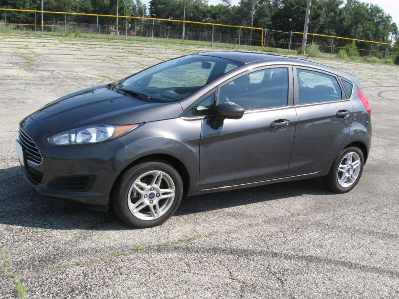 2017 Ford Fiesta for sale at Burhill Leasing Corp. in Dayton OH
