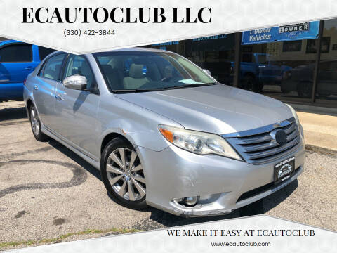 2011 Toyota Avalon for sale at ECAUTOCLUB LLC in Kent OH