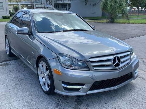 2012 Mercedes-Benz C-Class for sale at Consumer Auto Credit in Tampa FL